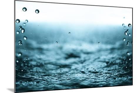 Rain Drops.-Janis Smits-Mounted Photographic Print