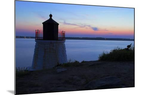 Lighthouse on a Rocky Shore.- andreiorlov-Mounted Photographic Print