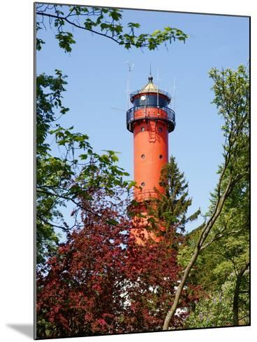 Old Light-House in Rozewie near Gdansk-Maria Brzostowska-Mounted Photographic Print