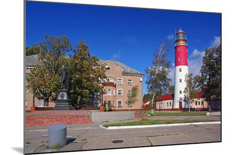 The Lighthouse in the Baltic-Ekaterina Ufimtseva-Mounted Photographic Print