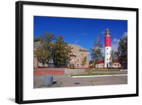 The Lighthouse in the Baltic-Ekaterina Ufimtseva-Framed Art Print