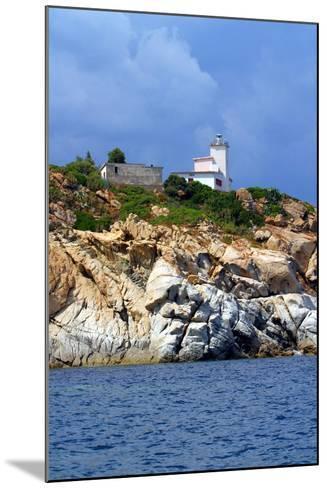 Italia,Sardegna,Capo Ferrato,Il Faro.- gimsan-Mounted Photographic Print