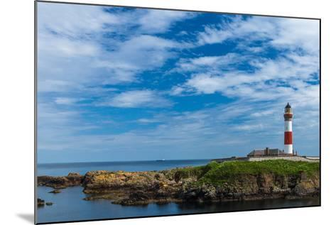 Buchan Ness Lighthouse at Boddam- panalot-Mounted Photographic Print