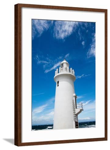 Lighthouse- noritama777-Framed Art Print