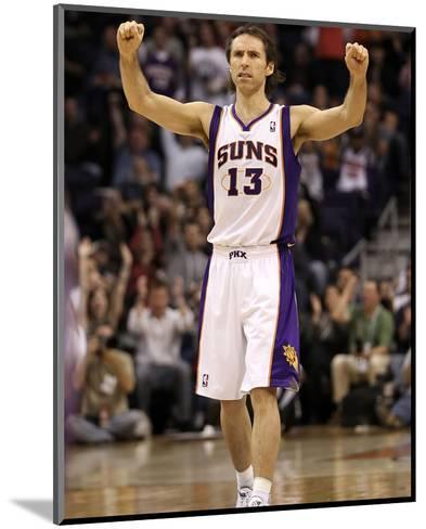 Indiana Pacers v Phoenix Suns: Steve Nash-Christian Petersen-Mounted Photo