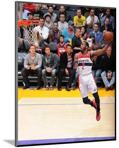 Mar 21, 2014, Washington Wizards vs Los Angeles Lakers - John Wall-Andrew Bernstein-Mounted Photo