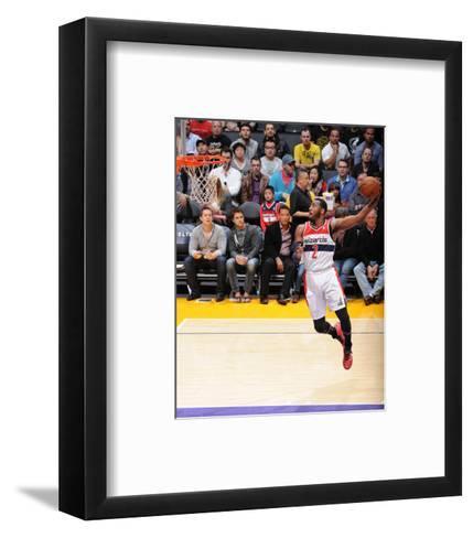 Mar 21, 2014, Washington Wizards vs Los Angeles Lakers - John Wall-Andrew Bernstein-Framed Art Print
