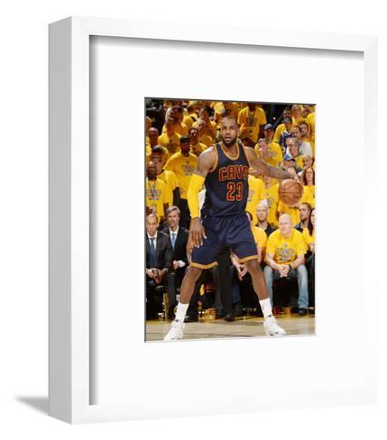 2015 NBA Finals - Game One-Noah Graham-Framed Art Print