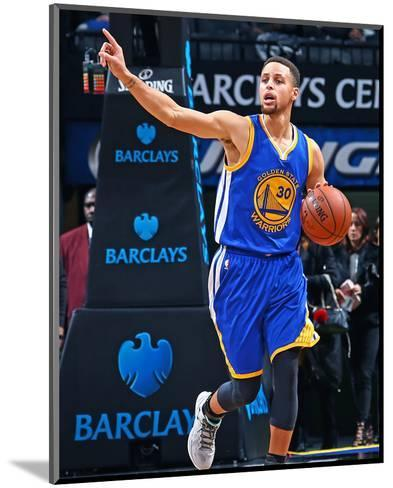 Golden State Warriors v Brooklyn Nets-Nathaniel S Butler-Mounted Photo