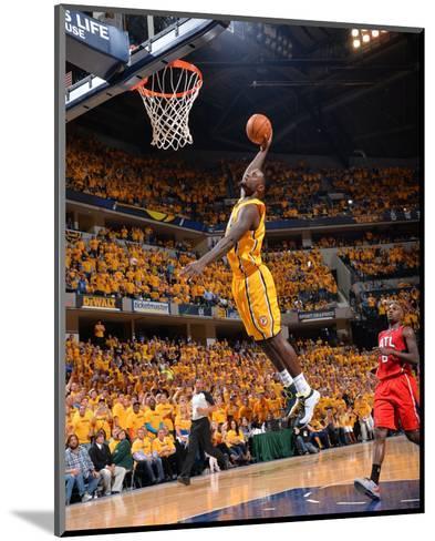 2014 NBA Playoffs Game 7: May 3, Atlanta Hawks vs Indiana Pacers - Lance Stephenson-Jesse D. Garrabrant-Mounted Photo