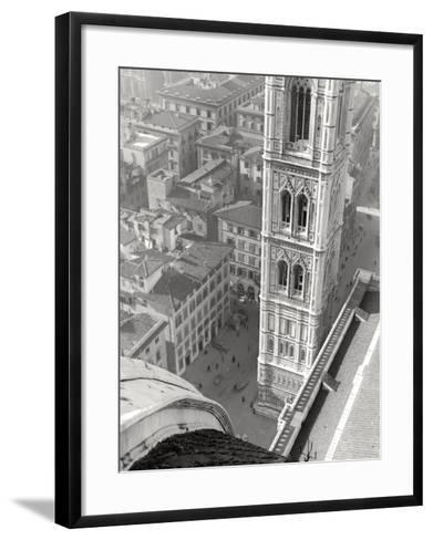 Giotto's Belltower in Florence-Vincenzo Balocchi-Framed Art Print