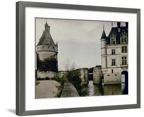 Detail of Chenonceau Castle-Henrie Chouanard-Framed Art Print