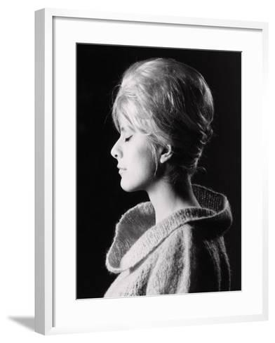Profile of a Model-A^ Villani-Framed Art Print
