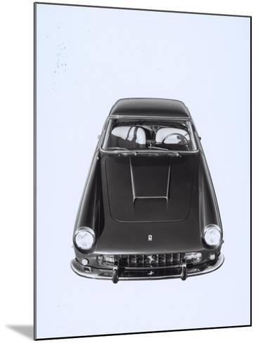 Frontal and Top View of a Ferrari Automobile-A^ Villani-Mounted Photographic Print