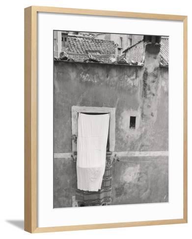 Laundry Hanging Out-Vincenzo Balocchi-Framed Art Print