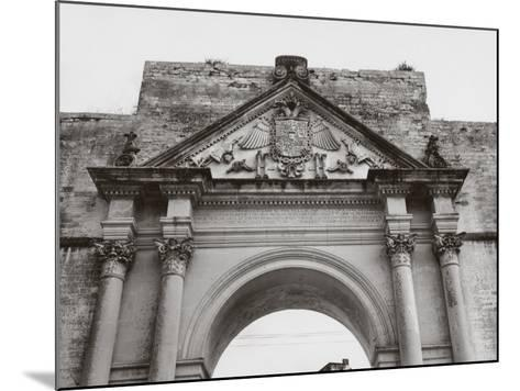Triumphal Arch in Honor of Carlos V, in Lecce-A^ Villani-Mounted Photographic Print