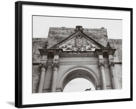 Triumphal Arch in Honor of Carlos V, in Lecce-A^ Villani-Framed Art Print