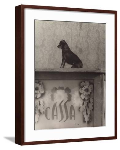 Little Dog-Vincenzo Balocchi-Framed Art Print