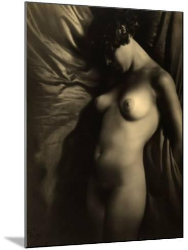 Nude Woman--Mounted Photographic Print