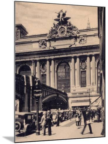 Grand Central Station, New York City--Mounted Photographic Print