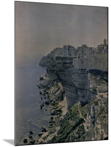 Bocche Di Bonifacio, Sardinia-Henrie Chouanard-Mounted Photographic Print