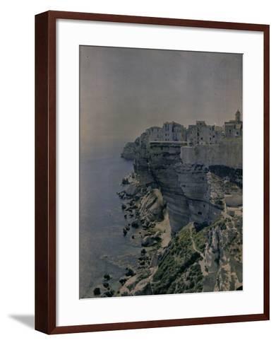 Bocche Di Bonifacio, Sardinia-Henrie Chouanard-Framed Art Print