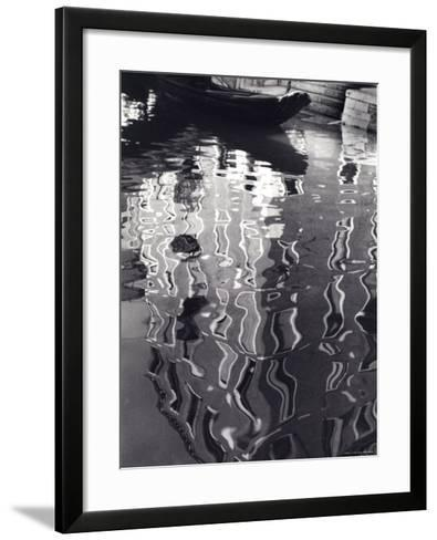 Reflections on the Water--Framed Art Print