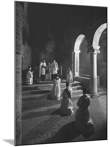 Religious Ceremony-Luciano Ferri-Mounted Photographic Print