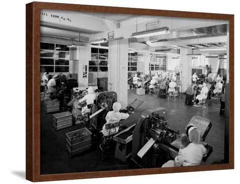 The Candy Preparation Department at the Motta Factory in Milan-A^ Villani-Framed Art Print