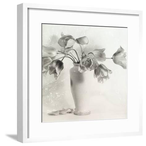 Vase with Tulips-Vincenzo Balocchi-Framed Art Print