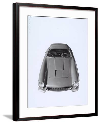 Frontal View of a Ferrari Automobile-A^ Villani-Framed Art Print