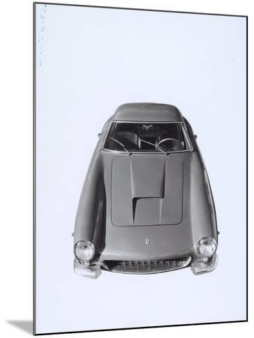 Frontal View of a Ferrari Automobile-A^ Villani-Mounted Photographic Print