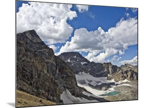 Peaks and Frozen Lakes in the High Country of Indian Peaks Wilderness, Colorado-Andrew R. Slaton-Mounted Photographic Print