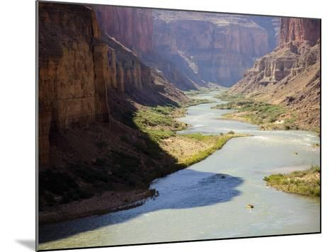 View from Nankoweap Overlook While Rafting the Grand Canyon. Grand Canyon National Park, Az.-Justin Bailie-Mounted Photographic Print