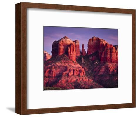 Cathedral Rock of Sedona, Arizona-Mike Cavaroc-Framed Art Print