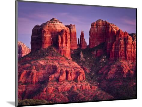 Cathedral Rock of Sedona, Arizona-Mike Cavaroc-Mounted Photographic Print