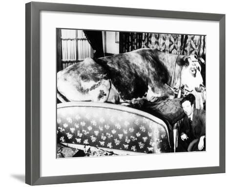 """Jacques Prevert. """"Age of Gold"""" 1930, Directed by Luis Buñuel--Framed Art Print"""