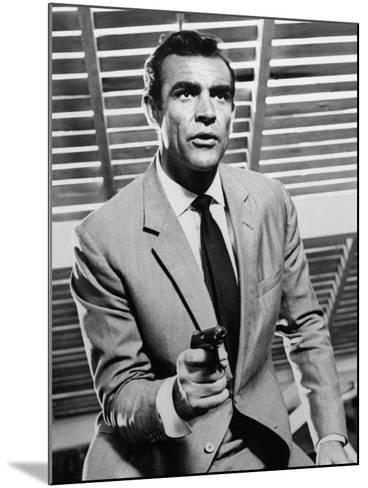 """Sean Connery. """"Doctor No"""" 1962, """"Dr. No"""" Directed by Terence Young--Mounted Photographic Print"""