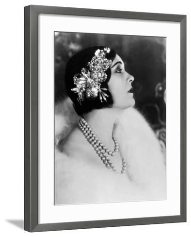 Pola Negri--Framed Art Print