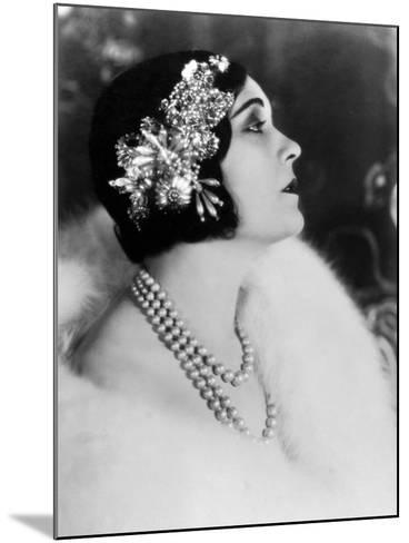 Pola Negri--Mounted Photographic Print