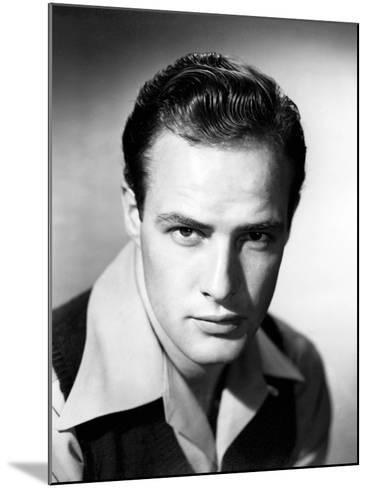 Marlon Brando--Mounted Photographic Print