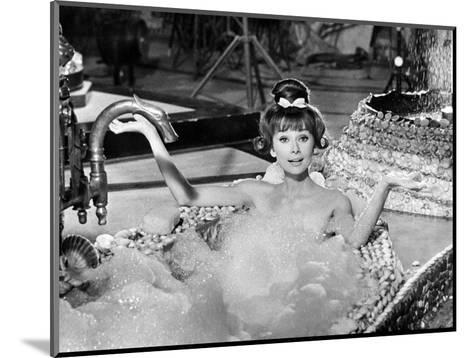 "Audrey Hepburn. ""Together In Paris"" 1964, ""Paris-when It Sizzles"" Directed by Richard Quine--Mounted Photographic Print"
