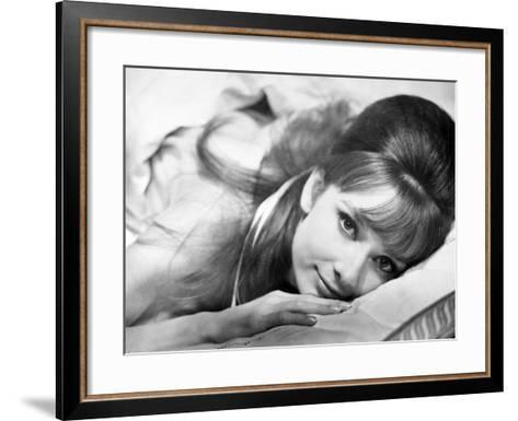 """Audrey Hepburn. """"Together In Paris"""" 1964, """"Paris-when It Sizzles"""" Directed by Richard Quine--Framed Art Print"""