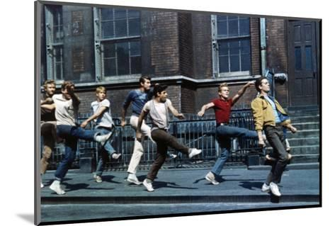 """Russ Tamblyn, Tony Mordente. """"West Side Story"""" 1961, Directed by Robert Wise--Mounted Photographic Print"""