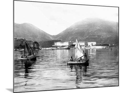 View of the Gulf of La Spezia--Mounted Photographic Print