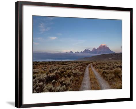 The River Road and Tetons on the Morning Light. Grand Teton National Park, Wyoming.-Andrew R. Slaton-Framed Art Print