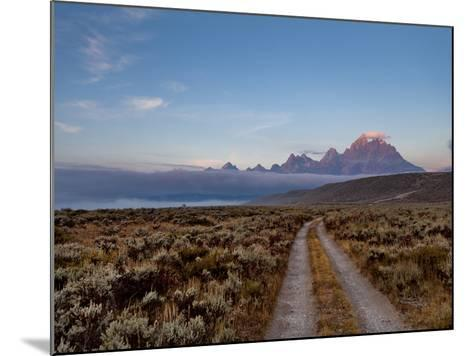 The River Road and Tetons on the Morning Light. Grand Teton National Park, Wyoming.-Andrew R. Slaton-Mounted Photographic Print
