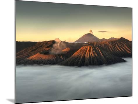 Bromo-Tengger-Semeru National Park on the Island of Java in Indonesia-Kyle Hammons-Mounted Photographic Print