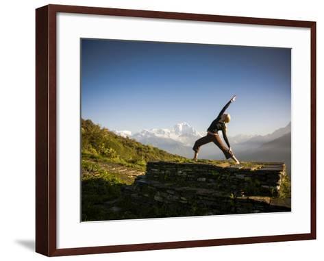 Anapurna Circuit, Ghorepani, Nepal-Dan Holz-Framed Art Print