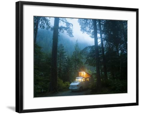 Mineral Park Campground, Mount Baker-Snoqualmie National Forest, Washington-Ethan Welty-Framed Art Print